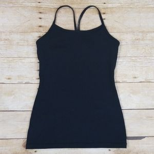 Ivivva Racerback Athletic Tank With Built In Bra